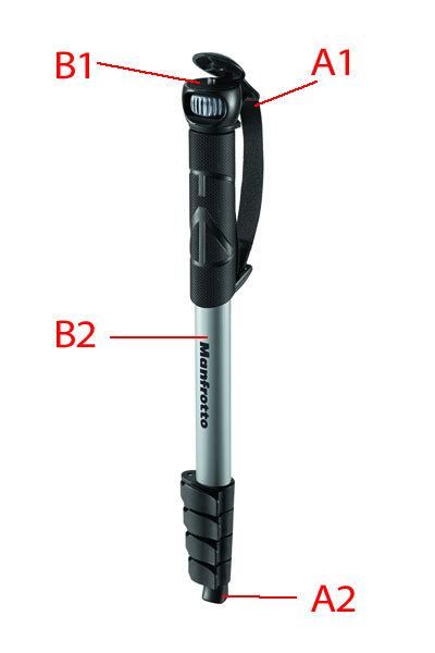 Manfrotto MMCOMPACTADV monopod