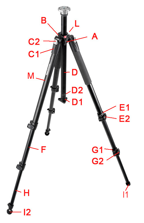 Manfrotto 055CLB version 3