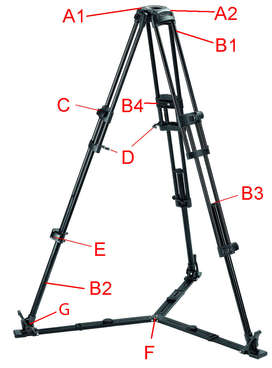 525MV Video Tripod