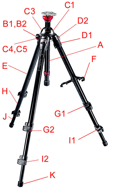 755B version 2 tripod'