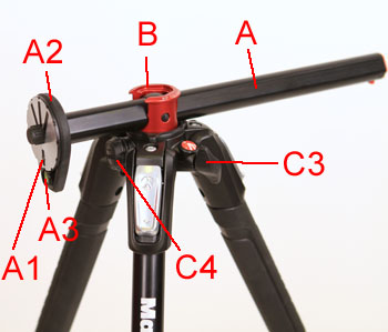 Mt190cxpro4 Manfrotto Tripod