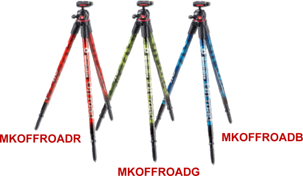 Off Road Tripods by Manfrotto