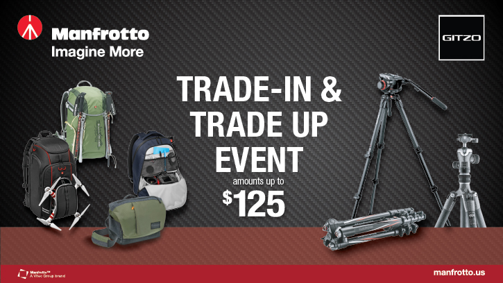 Manfrotto Trade In